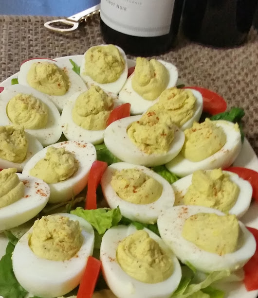 Avocado Infused Deviled Egg Recipe