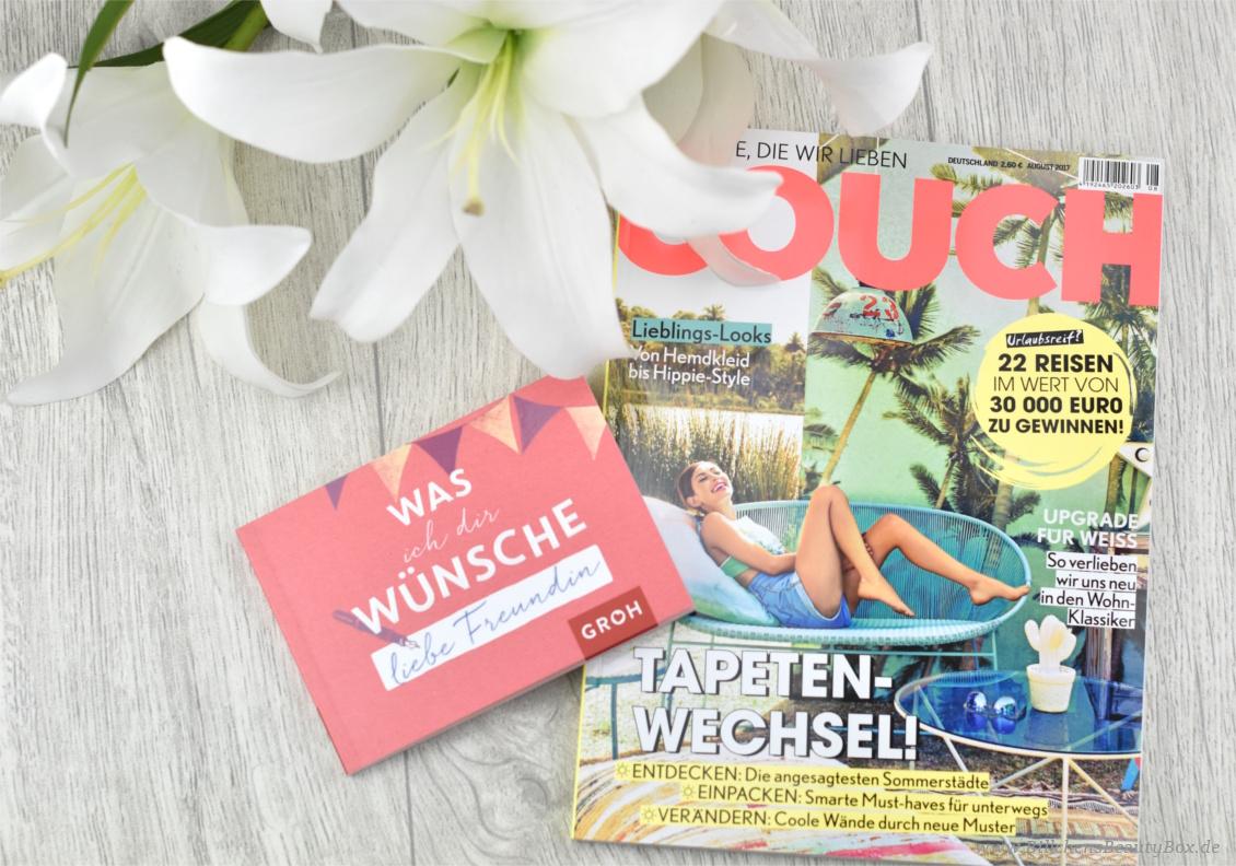 Pink Box zum Freundinnentag - August 2017- Was ich dir wünsche, liebe Freundin - Couch Magazin