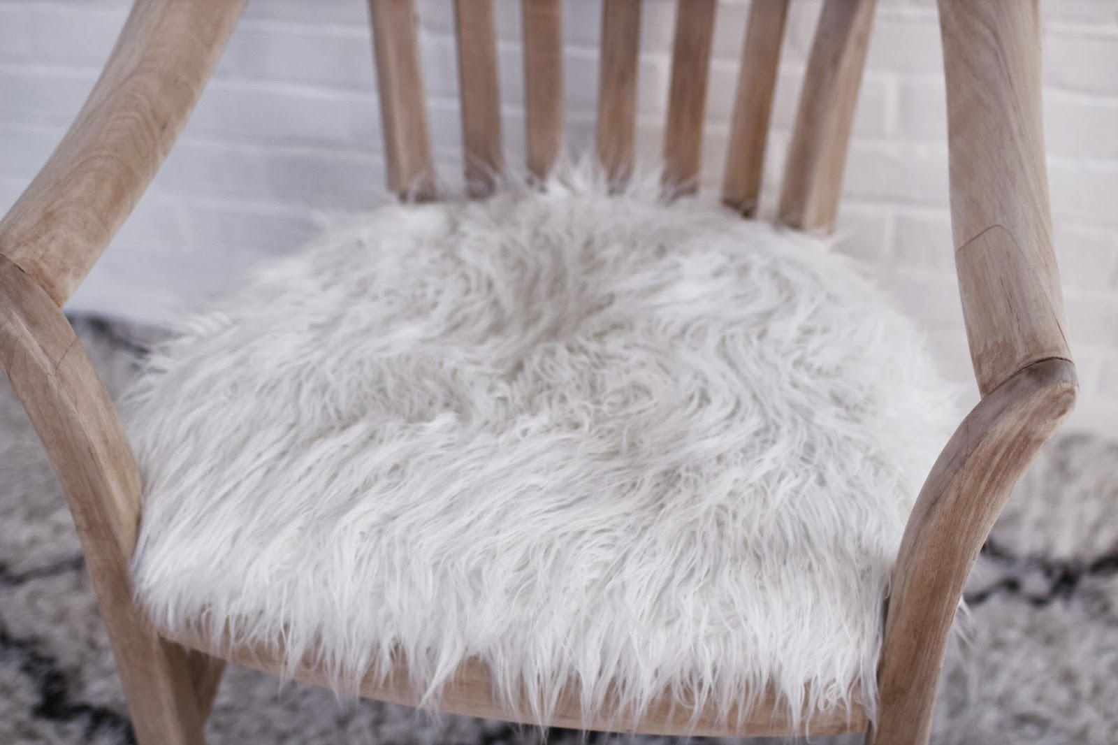 mongolian fur chair cover folding vine so fancy before 43 after faux makeover