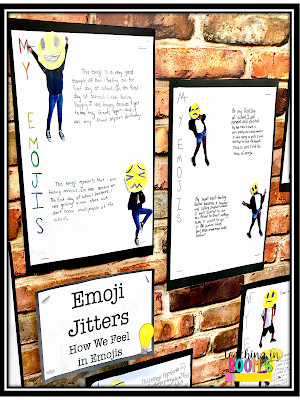 In fifth grade, use First Day Jitters and emojis to get the kids writing on day one of school