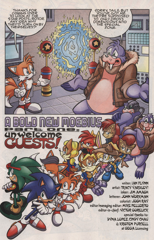 Read online Sonic The Hedgehog comic -  Issue #189 - 3