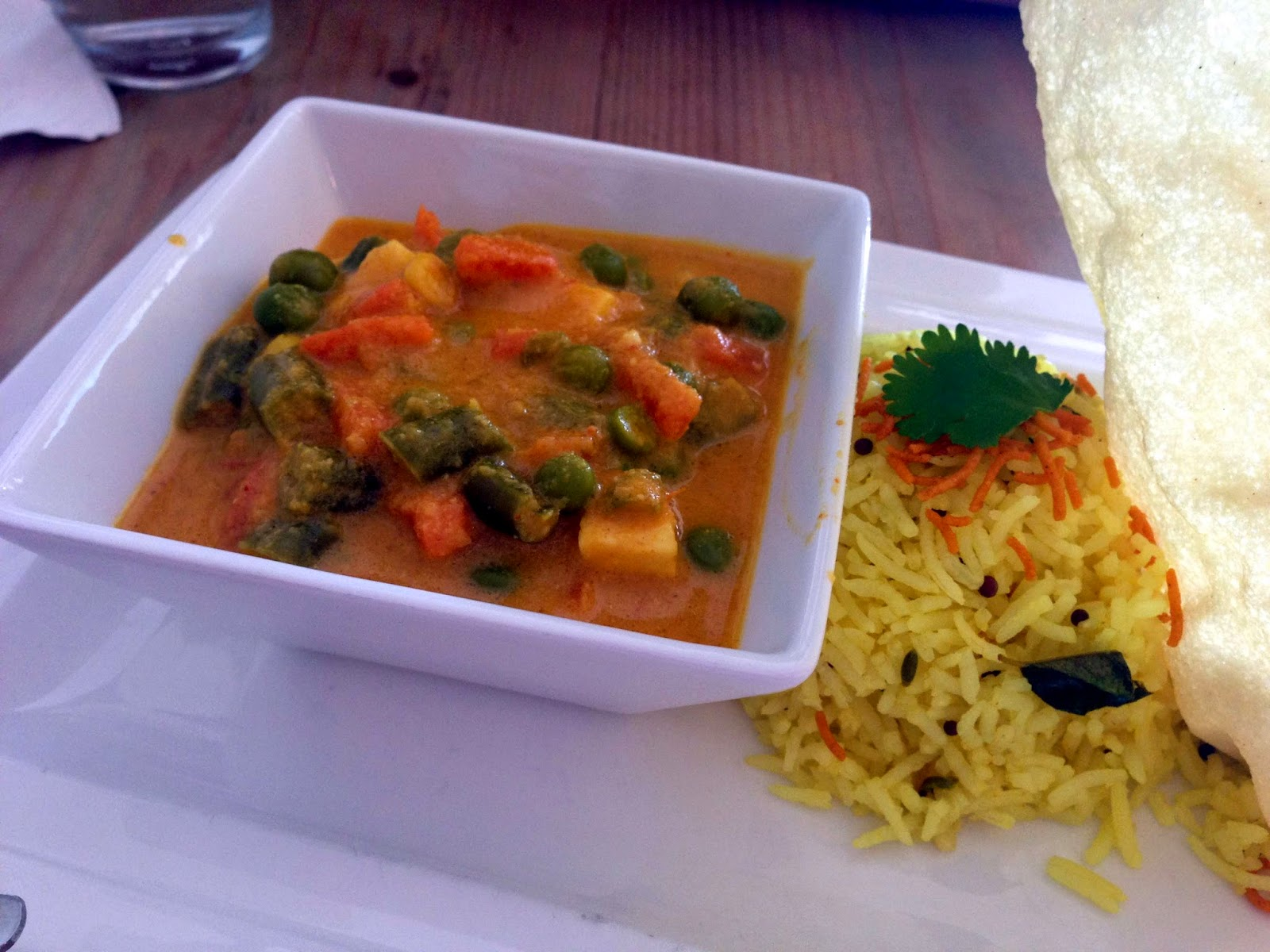 Stitch & Bear - Iyer's Cafe - Kadai paneer curry