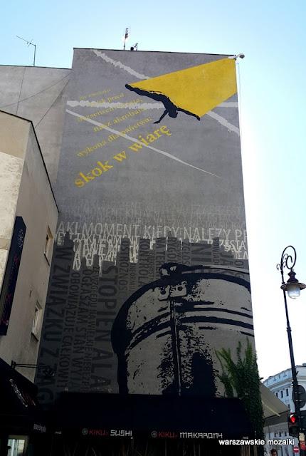 Warszawa Warsaw graffiti mural streetart blok Senatorska