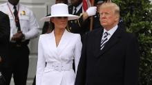 Trump says he's been too busy to get Melania a birthday present