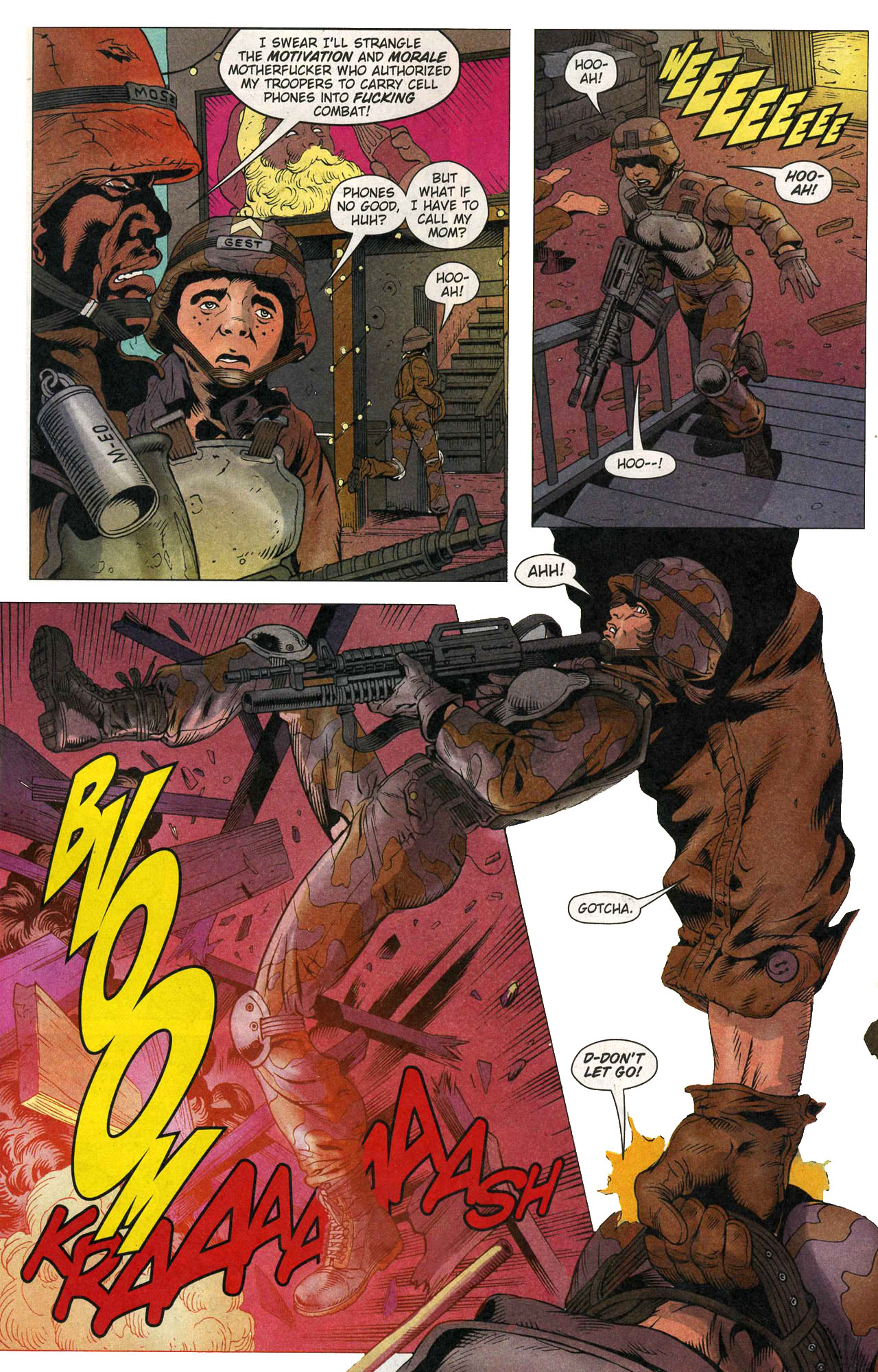 Read online Army @ Love comic -  Issue #1 - 5
