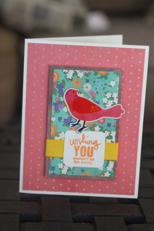 Cardmaking Monday (whoops, Thursday!): Printed Chipboard