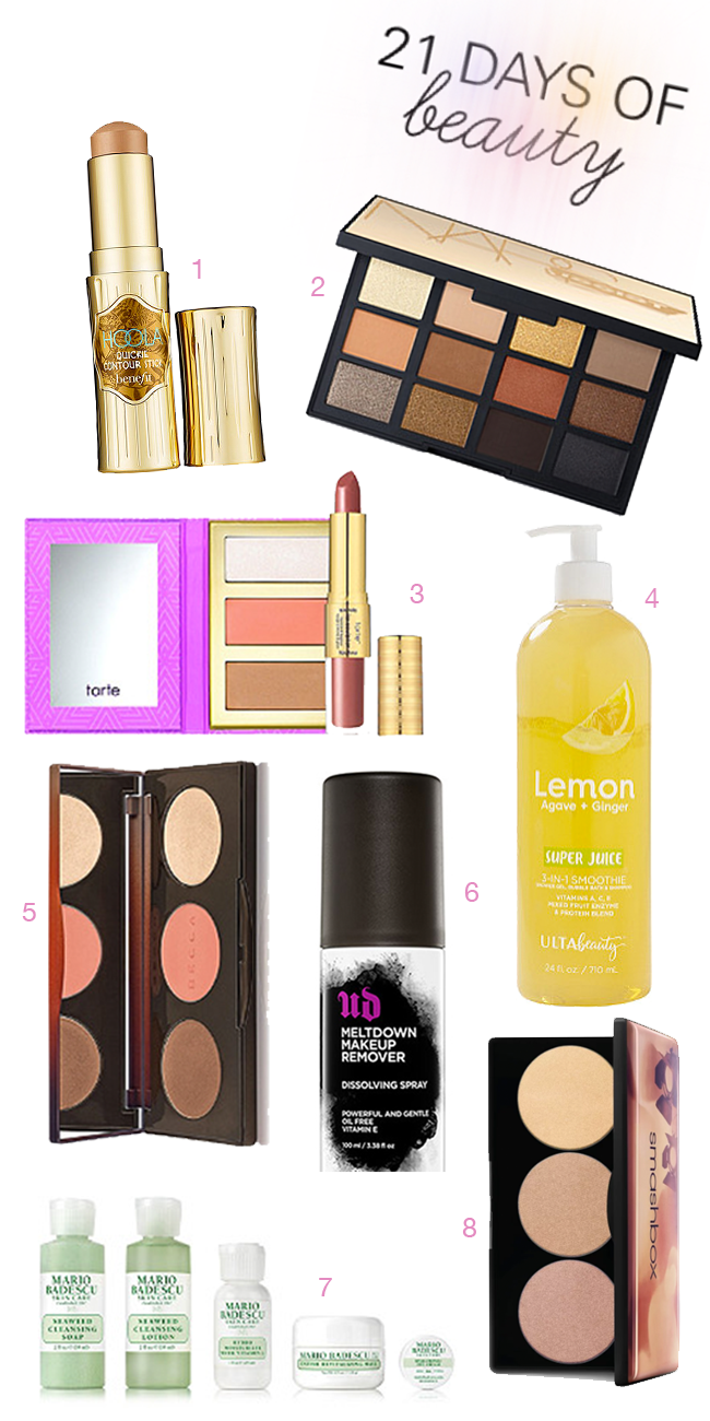 Ulta Beauty 21 Days of Beauty Top Picks