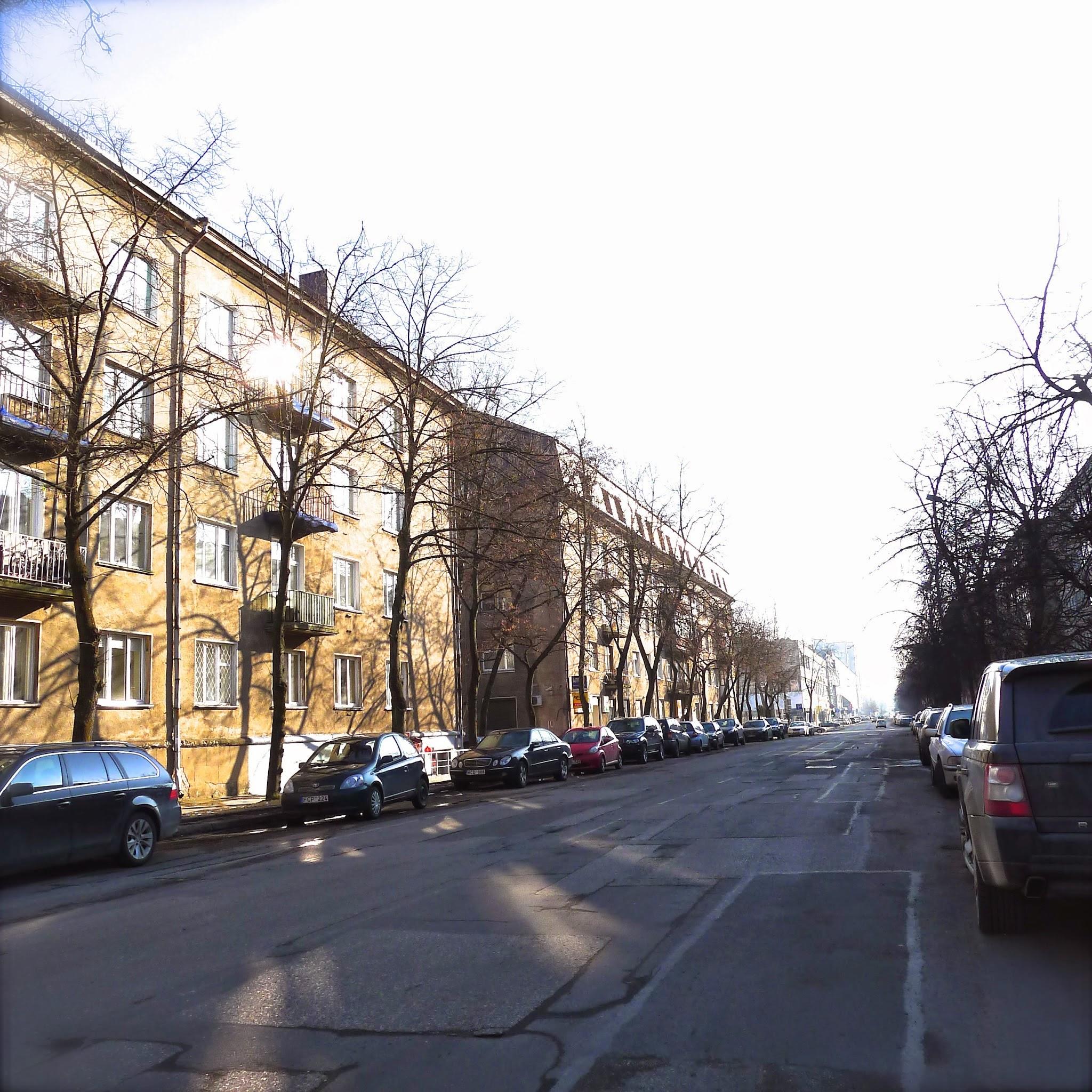 Vytenio gatvės namai Vilniuje