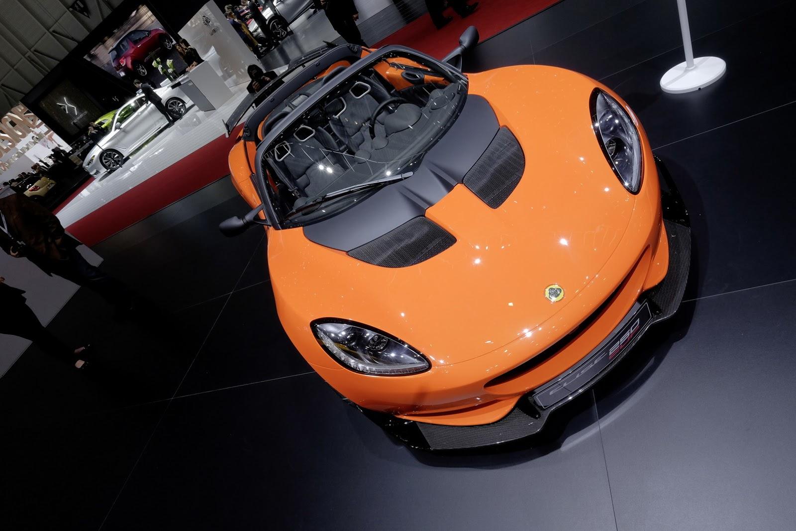 Lotus Elise Cup 250 hay Exige Sport 350