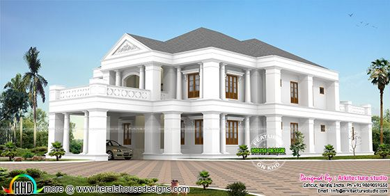550 sq-yd Colonial home