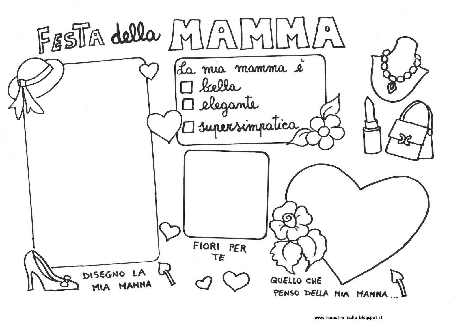 Maestra Nella Festa Della Mamma Tovaglietta Plastificata