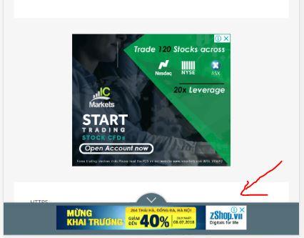 Cách chèn quảng cáo cấp trang, lớp phủ với google adsense