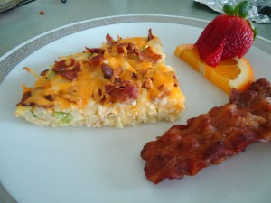 Mother's Day Brunch - Hash Brown Potato Pie