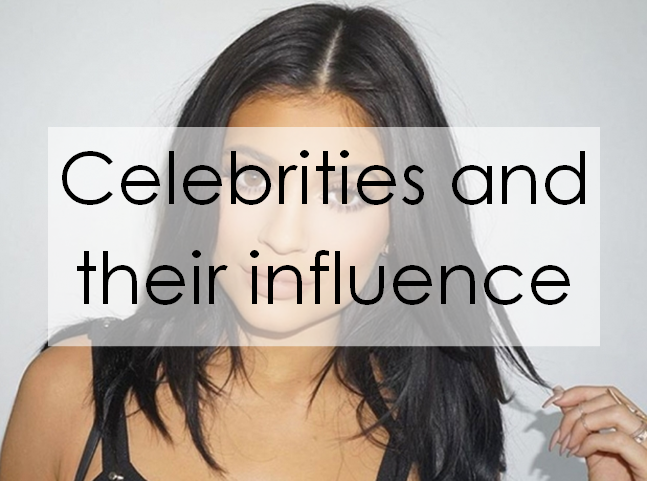 celebrities and their influence on the Sometimes, we have a complicated relationship with the celebrities we see we simultaneously envy their wealth and fame while thinking to ourselves, what would we do with that much power and influence over so many people what would we spend our money on, and how would we spend our time when we.