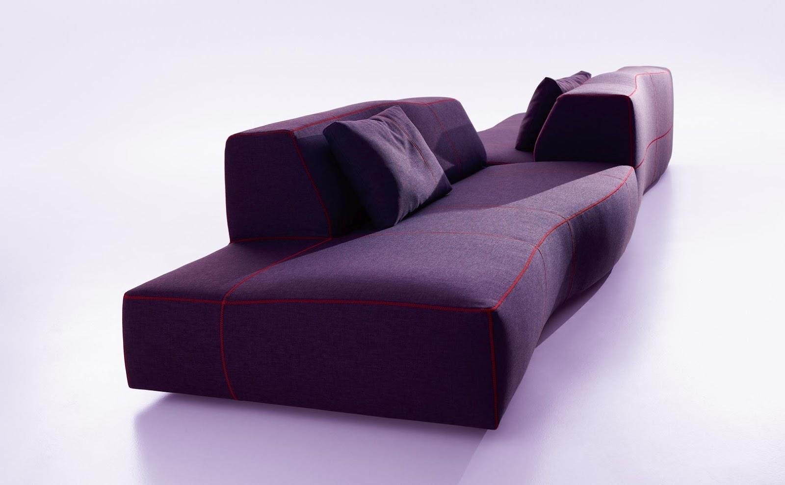 Bend Sofa By B Amp B Italia Designer Furniture Fitted
