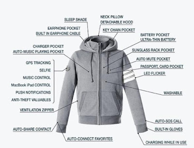 Hallam Smart Travel Jacket 2.0