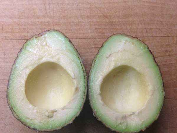 Let's all appreciate the tastiness of an avocado