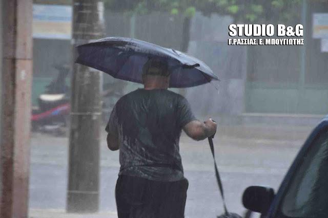Ραγδαία επιδείνωση του καιρού με βροχές, καταιγίδες και 9 μποφόρ