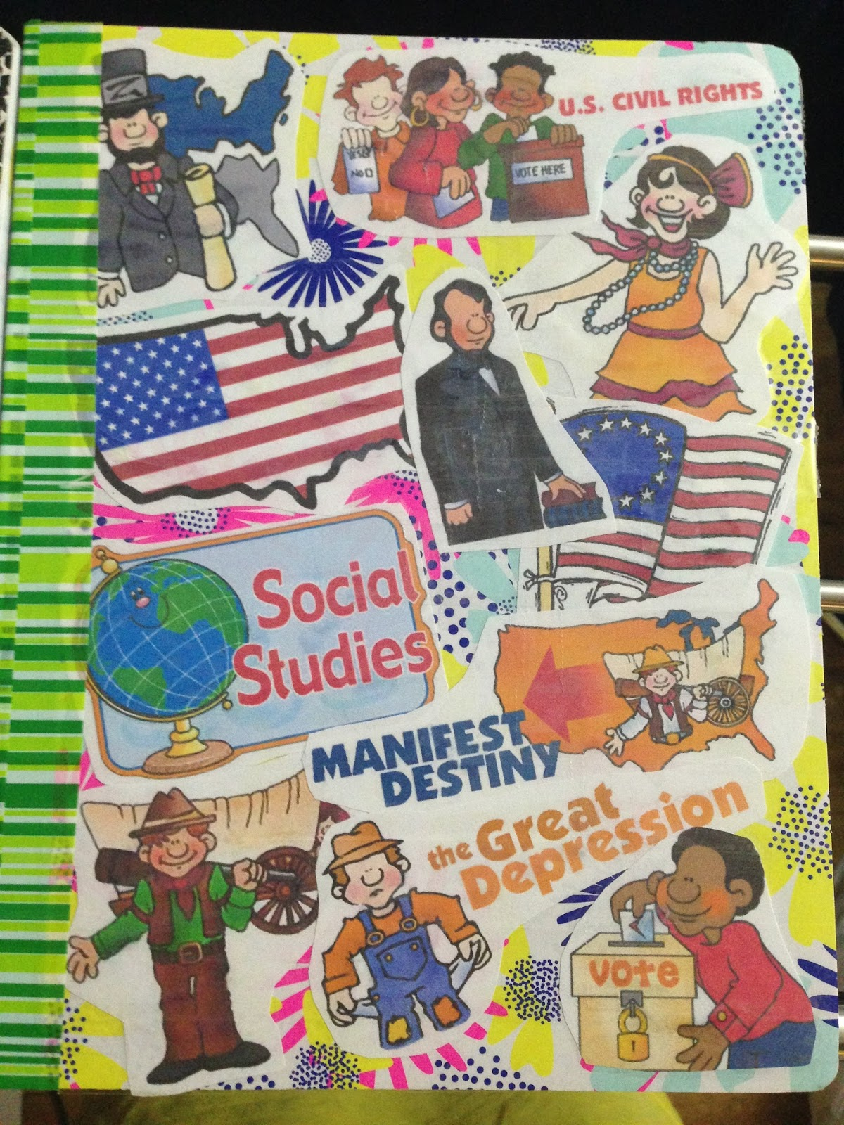 A Passion Driven Teacher |Human Studies Science Notebook Cover