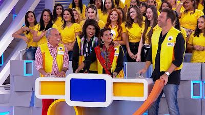 Chiquinho, Tiago Barnabé, Narcisa e Bertolazzi (Divulgação/SBT)