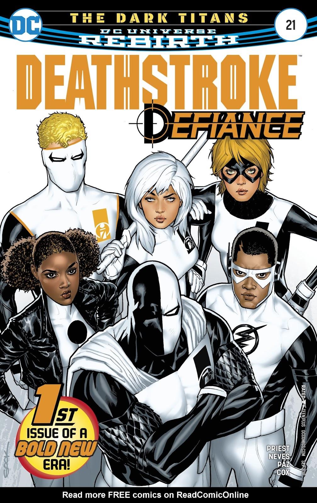Read online Deathstroke (2016) comic -  Issue #21 - 1