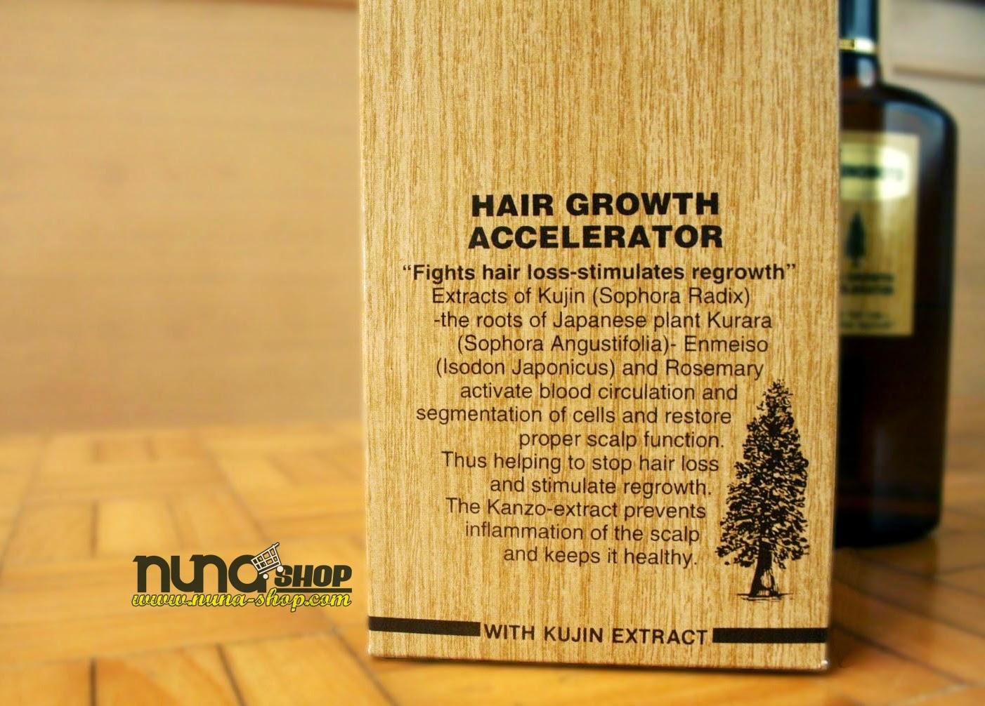 Kaminomoto Hair Growth Accelerator Penumbuh Rambut Untuk Mengatasi Kebotakan