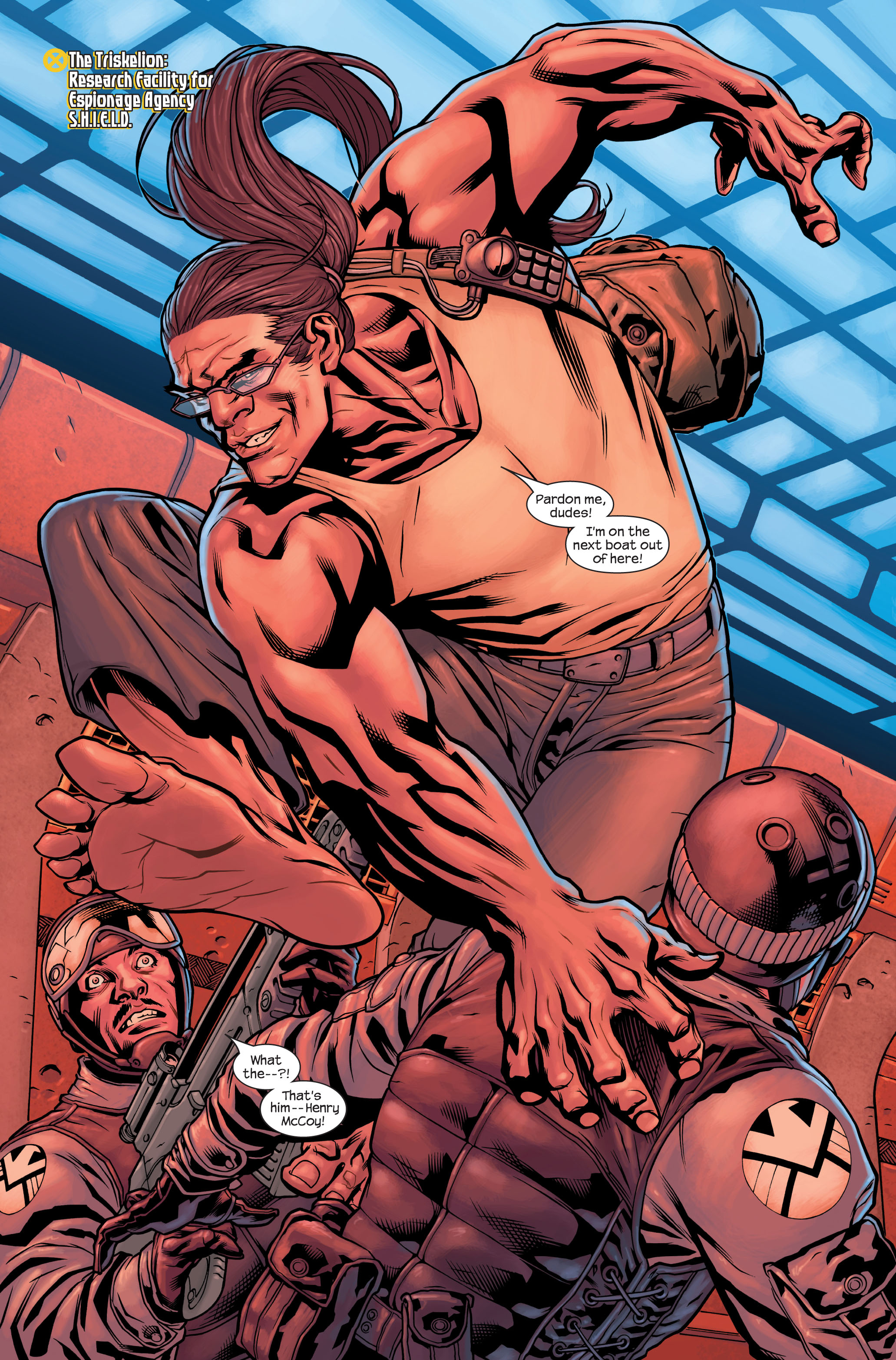 Read online Ultimate X-Men comic -  Issue #85 - 3