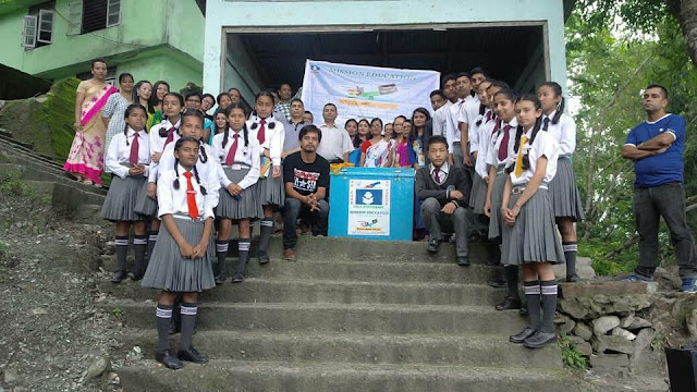 Mission Education Team of Rangpo placed it's 5th Dropbox at Government Secondary School Trapin, Rhenock East Sikkim