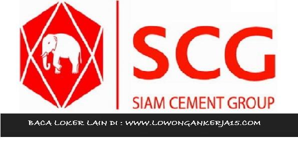 Lowongan Kerja PT Siam Cement Group Indonesia