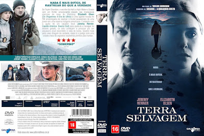 Filme Terra Selvagem (Wind River) DVD Capa
