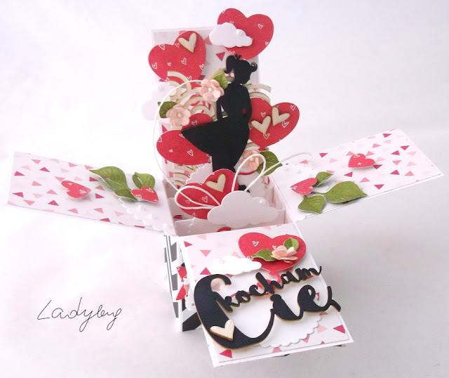 Walentynka - card in box