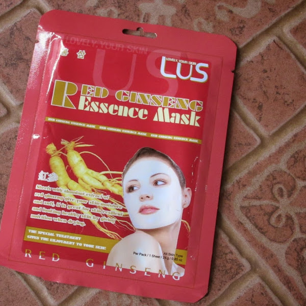 Review: LUS Essence Mask Red Ginseng