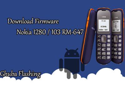 Bagi anda yang sedang membutuhkan Firmware ini Download Firmware Nokia 1280 / 103 RM-647 Version 07.00 BI