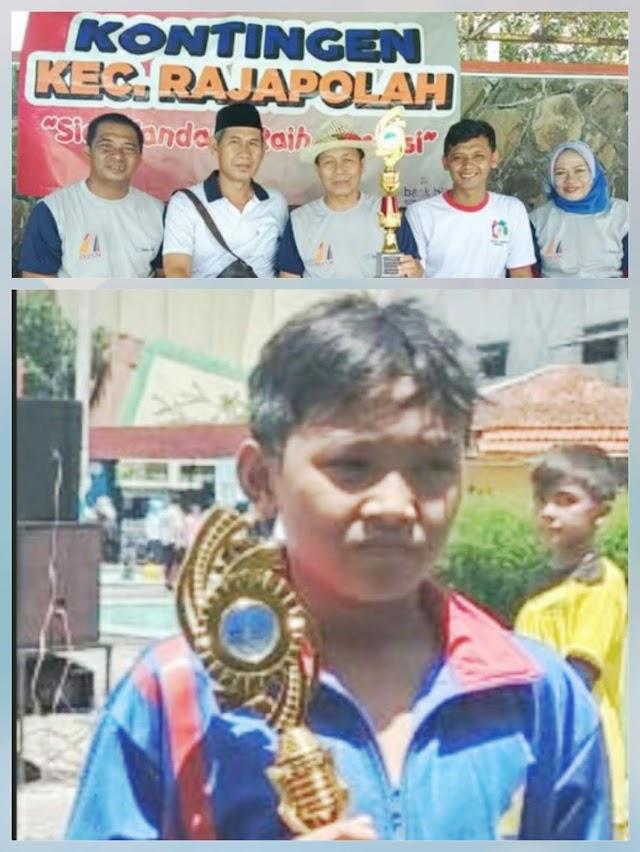 Prestasi  Septian Nursyabana Antarkan Kontingen Rajapolah Raih Juara Umum O2SN Tingkat Kab.Tasikmalaya 2019