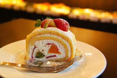 My Free Food Photos - Cake Cream Strawberry Dessert.