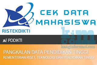 Cara Cek Keaslian Data Mahasiswa di Forlap Ristekdikti - kanginformasi.com