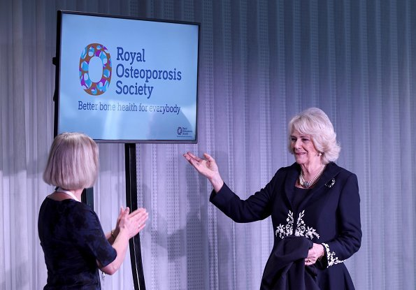 official launch of The Royal Osteoporosis Society at the Science Museum in London