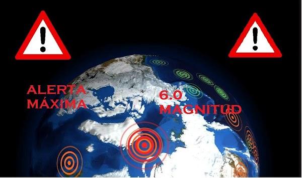 Se registra  fuerte sismo en el polo norte del Planeta Tierra