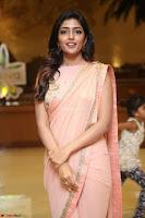 Eesha Rebba in beautiful peach saree at Darshakudu pre release ~  Exclusive Celebrities Galleries 078.JPG