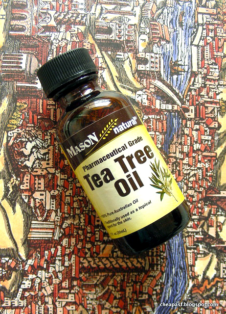 Best cheap acne spot treatment: tea tree oil