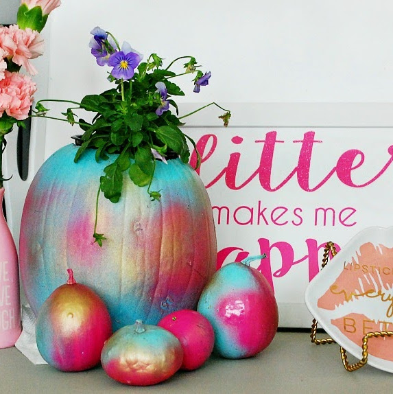 Taffy Colored Pumpkins