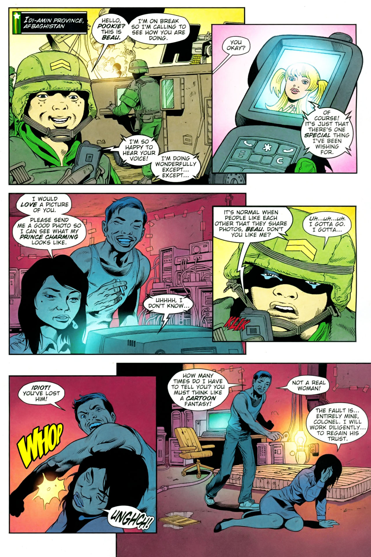 Read online Army @ Love comic -  Issue #10 - 9