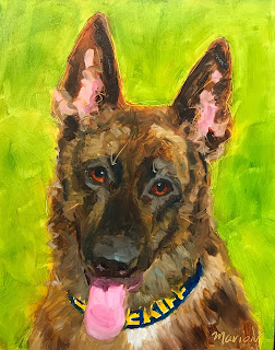 GSD, Pet Portrait, German Shepherd, Police Dog