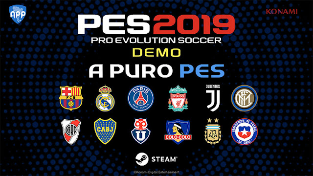 PES 2019 Demo APP Patch ( Real Madrid, Juventus, PSG ) And More