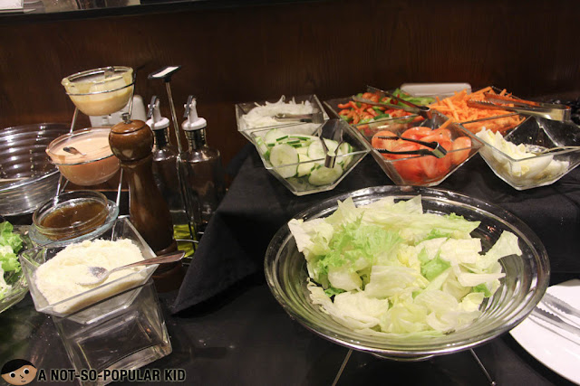 Salad Bar of 7 Flavors Restaurant