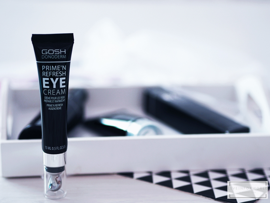 gosh donoderm prime'n refresh eye cream