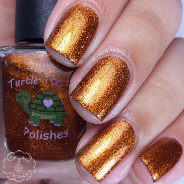Turtle Tootsie Polish - Smashed Pumpkins