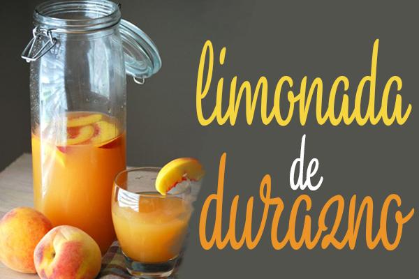limonada de durazno