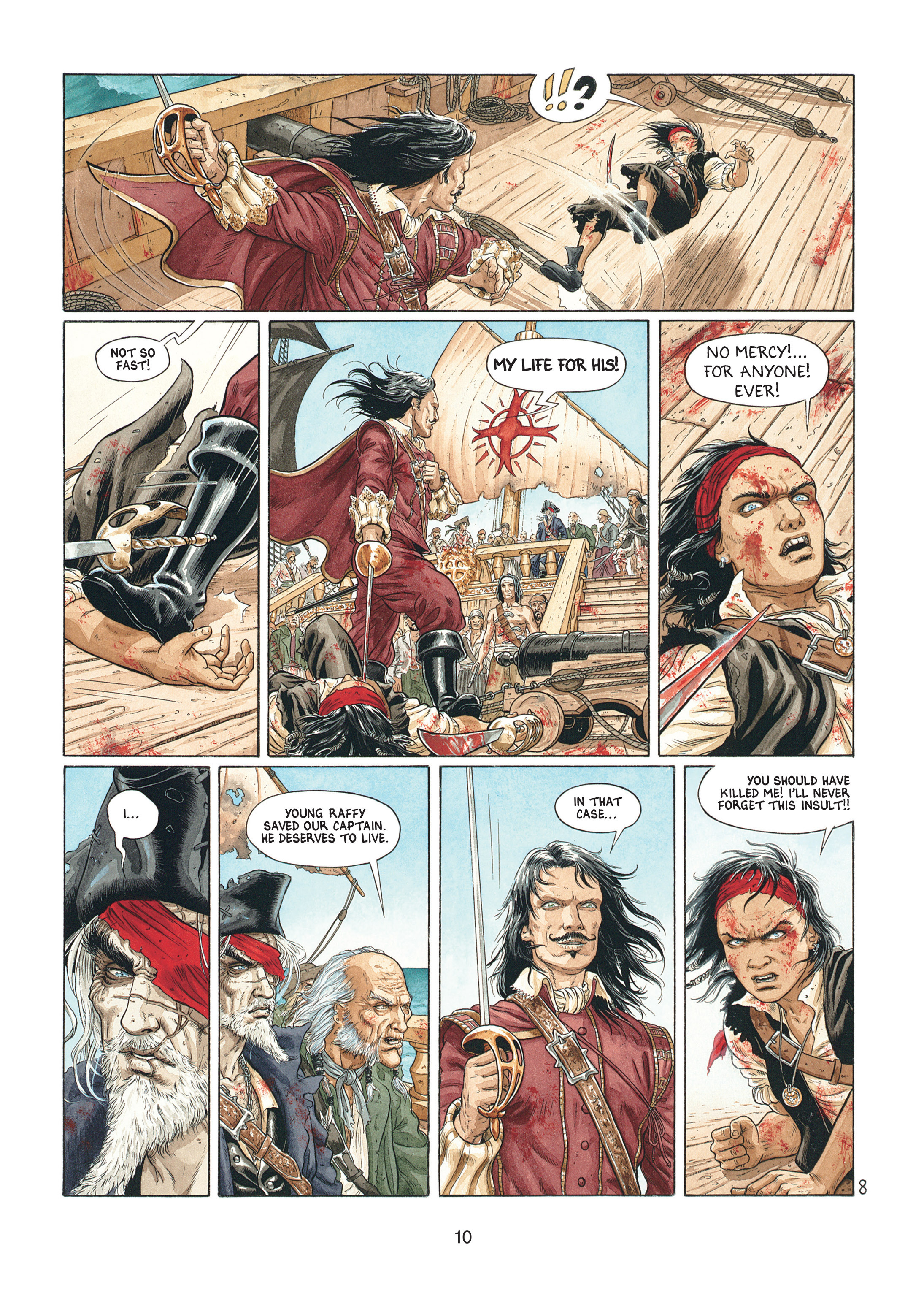 Read online Barracuda comic -  Issue #1 - 10