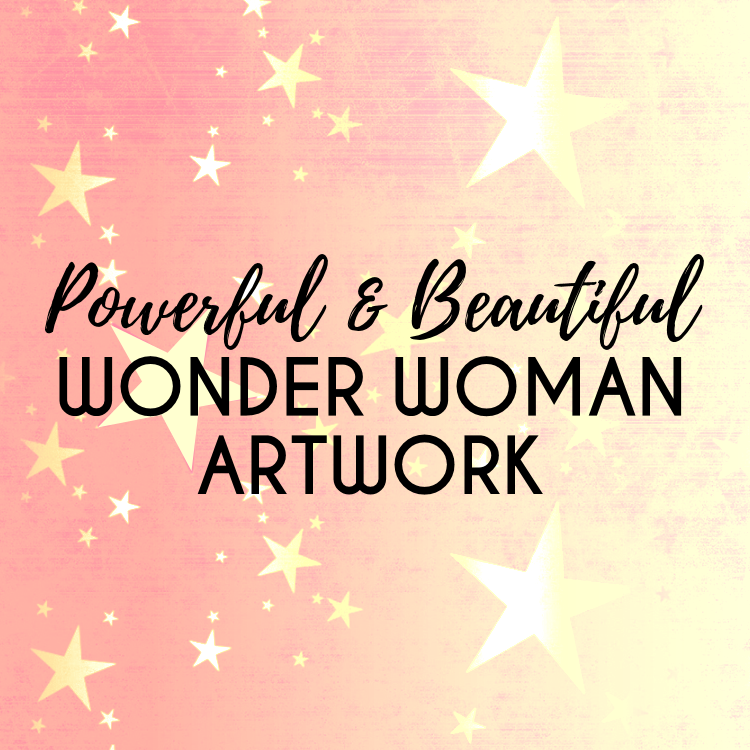 Wonder Woman Artwork Gallery